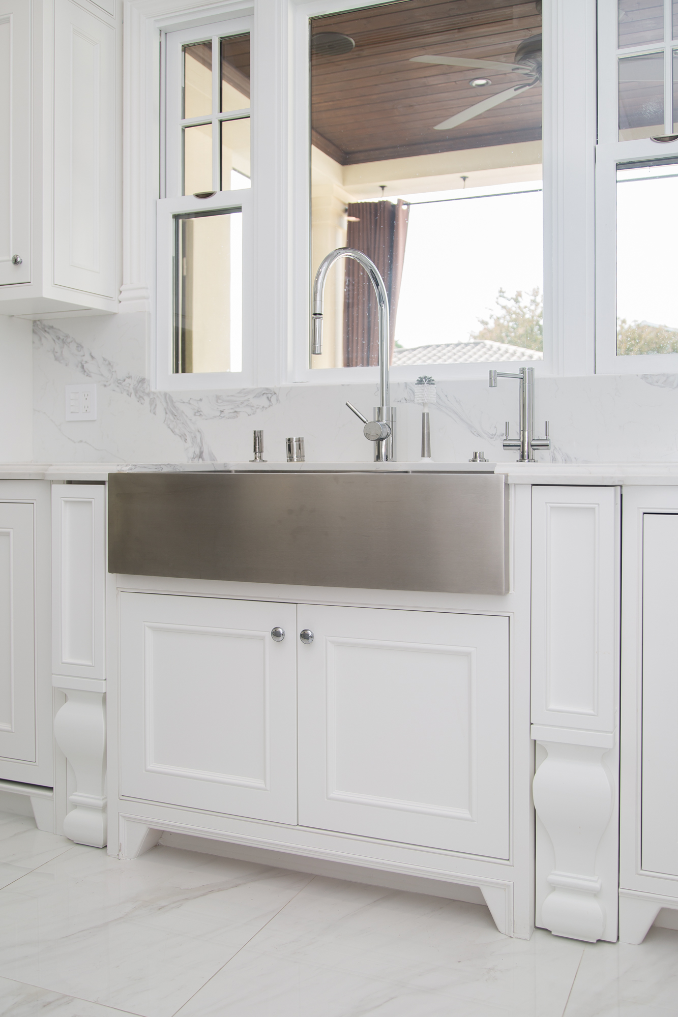 Custom Kitchen & Vanity Cabinets (Project 107) - RTA Cabinet Work